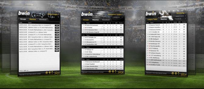 bwin scores en direct