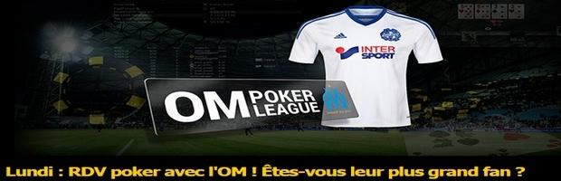 tournoi de poker spécial OM