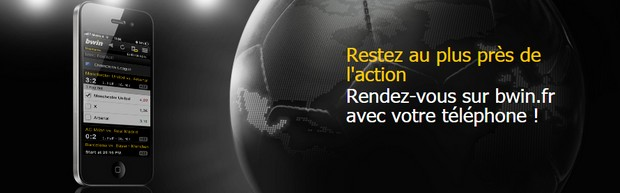 les applications mobile de Bwin