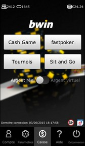 bwin poker mobile sur android