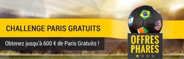 Challenge Paris Gratuits Bwin