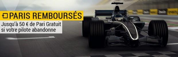 Bwin : Pariez sur la Formule 1 en 2016