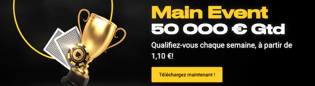 Day 1 Bwin Poker chaque semaine