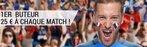 Offre 1er buteur de Bwin.fr pour l'Euro 2016
