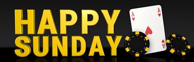 Happy Sunday sur Bwin Poker le 4 décembre