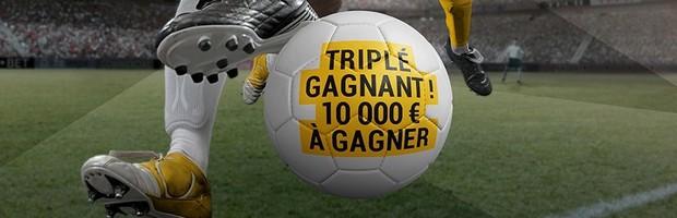 10.000€ à gagner sur Bwin avec le Challenge Triplé Gagnant