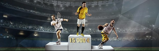 15.000€ mis en jeu par Bwin pour la Course au titre de janvier 2017