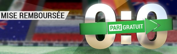 Jusqu'à 25€ offerts par Bwin à chaque match de la Coupe des Confédérations