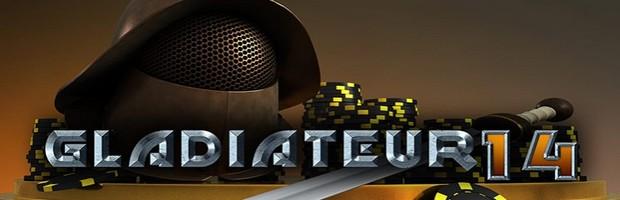 Profitez de l'offre Le Gladiateur aux tables de poker de Bwin