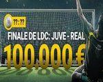 Bwin met en jeu 100.000€ sur Juventus-Real en LDC