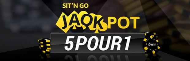 Remportez vos tickets de SnG Jaqkpot sur Bwin