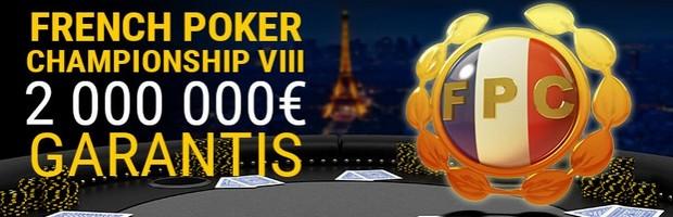 2.000.000€ garantis par Bwin pour la 8ème édition du French Poker Championship