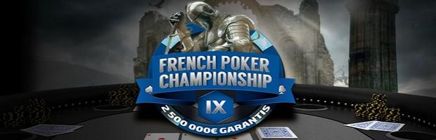 2.500.000€ mis en jeu sur Bwin pour le French Poker Championship IX