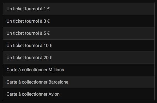 Découvrez la route 3 de qualifications pour le Millions Warm Up de Barcelone grâce à Bwin