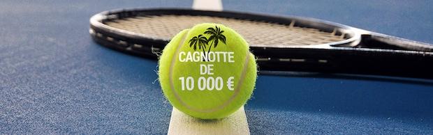 Empochez jusqu'à 3.000 euros sur Bwin pour le tournoi de tennis d'Indian Wells 2018