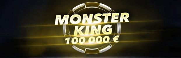 100.000€ mis en jeu pour le tournoi de poker Monster King de Bwin