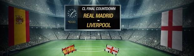 Plusieurs offres disponibles sur Bwin.fr pour Real Madrid/Liverpool