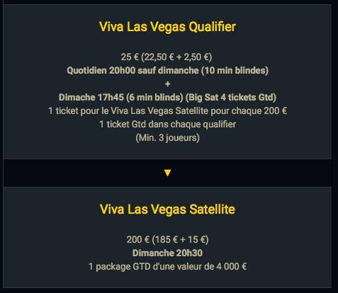 """Circuit de qualification pour le satellite """"Viva Las Vegas"""" du dimanche"""