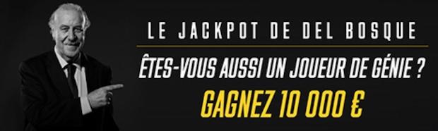 Participez au Jackpot Del Bosque sur Bwin entre le 13 juin et le 15 juillet 2018