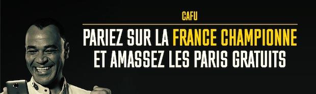 Empochez 5€ par victoire de la France au Mondial russe 2018 grâce à Bwin