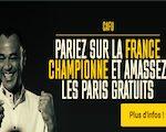 Engagez un prono France championne du Monde sur Bwin