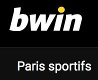 Les pronos disponibles sur Bwin