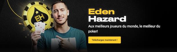 Partenariat entre Eden Hazard et Bwin poker